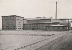 (1911-1912) Sulphuric Acid Factory [Luboń, Poland] - Hans Poelzig  ## Stabilimento chimico per la produzione di acido solfurico a Luboń, Polonia ##