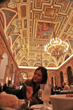 Book cafe - Budapest - The wibbley bits