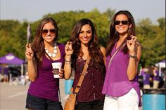 Love these outfits #tcu #gameday