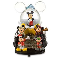 Your WDW Store - Disney Snow Globe - Mickey Mouse - Cast Member Costumes
