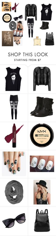 """""""Fighter34"""" by k-loverrzers-bunnyz ❤ liked on Polyvore featuring Valfré, Zizzi, Glamorous, alfa.K and Hermès"""