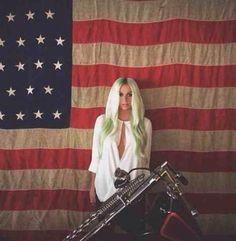 Kesha Rose Sebert♥ Reping America♥ #Kesha #Kesha_Sebert #Celebrities