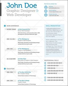 Stock Indesign Free Cv Resume Template  HttpWwwDesignfreebies