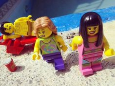 """Eww just keep walking and don't make eye contact ..."" #gross #lego #legostagram #pickup #sexy #flirt #ew #pool #summer #spring #beach #poolparty by machobombs"