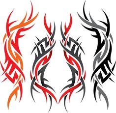 #Tattoo #TattooIdeas #TribalTattoos #TattooDesigns Tribal Cross Tattoos, Wedding Band Tattoo, Wedding Bands, Tribal Images, Maori Patterns, Framed Tattoo, Gothic Pattern, Maori Tattoo Designs, Tattoo Illustration