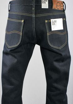 LEE 101 - 23OZ ORIGINAL ZIP FLY JEAN - RAW DENIM - 5