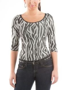 Zebra Pattern Seamless Bodysuit .... ❤️