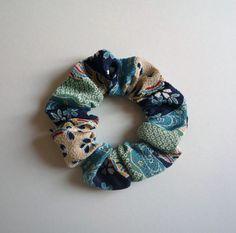Japanese Hair Tie Chirimen Kimono Hair Accessory No Damage