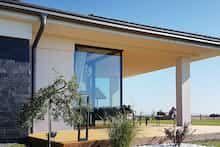 Dom w bodziszkach Design Case, Modern House Design, Farmhouse, Outdoor Decor, Home Decor, Country Houses, Kitchen Modern, Home, Homemade Home Decor
