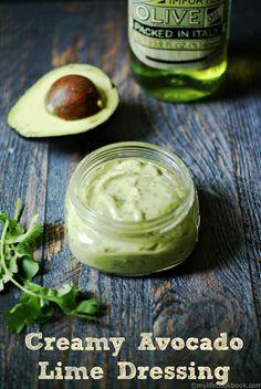Creamy Avocado Lime Dressing