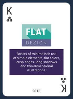 Win This Custom Card Deck & Discover Web Design Trends 2004-2014  https://www.pinterest.com/templatemonster/win-the-web-design-trends-cards/  #webdesigntrends #flatdesign
