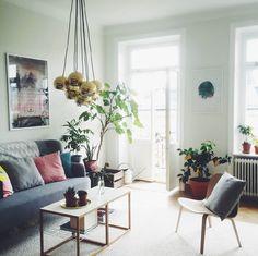 Sandra Beijers vardagsrum