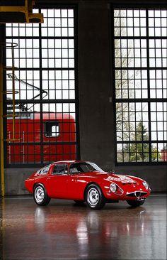 Alfa Romeo Giulia TZ 1 by Stephan Diekmann, via Flickr