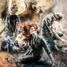 Mortal Instruments Book Covers