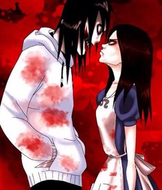 Creepypasta's Jeff the Killer x American McGee's Alice