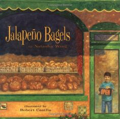 Jalapeno Bagels by Natasha Wing. Save 19 Off!. $14.49. 32 pages. Reading level: Ages 5 and up. Author: Natasha Wing. Publisher: Atheneum Books for Young Readers; First Edition edition (June 1, 1996)