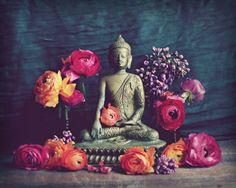Buddha-Fotografie / Meditation Zimmer Dekor / von LupenGrainne