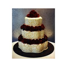 Wedding Cakes ❤ liked on Polyvore featuring home, kitchen & dining, flatware, cakes and cake utensils