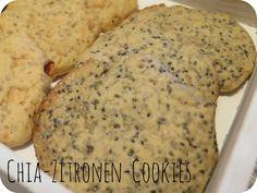 From Veggie to Vegan: {Cookie Monday} Chia Zitronen Cookies