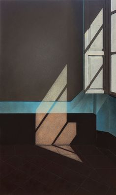 Arduino Cantafora (Italy, 1945 - ) Finestra II, 2016 , oil on canvas Light And Shadow Photography, Art Photography, Lumiere Photo, Instalation Art, Art Graphique, Oeuvre D'art, Aesthetic Wallpapers, Art Inspo, Contemporary Art
