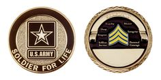 SOLDIER FOR LIFE - SERGEANT RANK - ITEM CC-1361