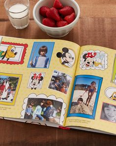 Does your kid love Disney? Find joy in creating a personalized photo book with new Disney designs to keep track of all their favorite memories. | Shutterfly