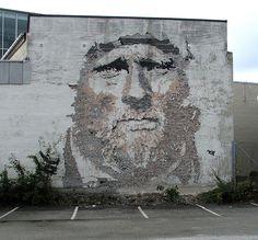 street artist Vhils...