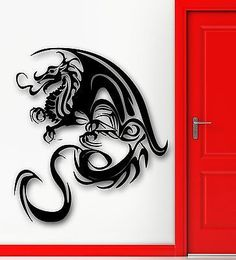 Wall Sticker Vinyl Decal Dragon Fantasy for Kids Room Nursery (ig1830)