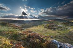 Piercing sun rays over Dartmoor  Richard Fox of Bovey Tracey, Devon Picture: Richard Fox