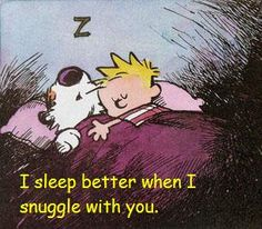 So lets cuddle up. :)