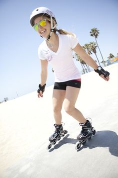 Skating is great for toning your calf, thigh, back, shoulders and butt. Get nice curves without the chiselled muscles you might get from jogging too much. Pick a pair of skates from our women range and start skating!