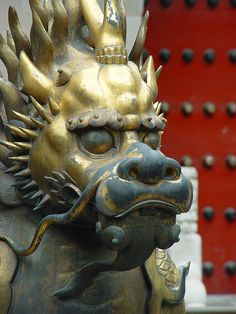 Dragon, Forbidden City, Beijing, China