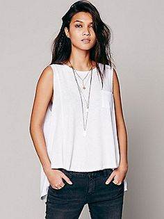 We The Free Beach House Tank at Free People Clothing Boutique