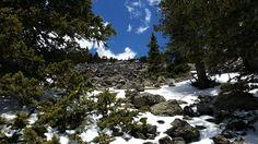 Humphreys Peak in Winter (Flagstaff Arizona) [OC][2000x1000]