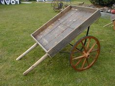 hand cart ... simple design that works