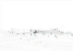 BIG unveils a Ski Resort in Lapland,Elevation 02
