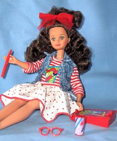 Skipper Courtney Teen Time 1988 by 80Barbie collector, via Flickr