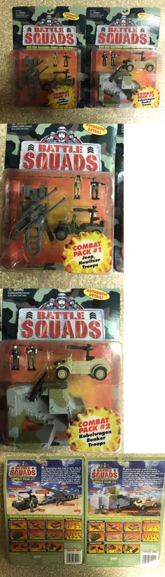 Tanks and Military Vehicles 171138: Micro Machines Galoob Battle Squads Lot Rare -> BUY IT NOW ONLY: $35.99 on eBay!