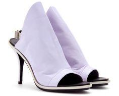 balenciaga wail glove sandal in lavender