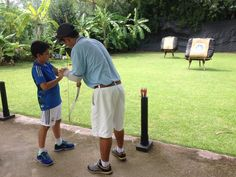 Learn how to shoot a bow with Khun Art at our archery course - For Kids