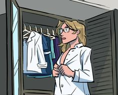 New #peekoftheweek Getting Ready for a Date. Marty has a  date but with who? Learn more at powerssquaredcomicbook.com/peek-of-the-week.  #PowersSquared #comicbooks #comicbook  #superheroes