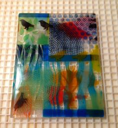 360 Fusion Glass Blog: Fused Glass Class: Taking BE's Layered Assemblage Class