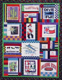 Looking for good t-shirt quilt patterns