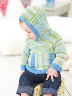 Design from Smiley Little Stripes (403) features 13 handknits for babies, girls and boys from birth to 7 years in Snuggly Smiley Stripes DK. The second Smiley Stripes book Smiley Little Stripes is full of trendy and colourful knits | English Yarns