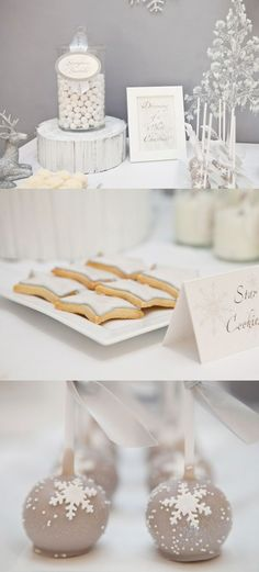 Sweet table! Elegant! Have you checked our Website?  www.kommaeventos.com.uy