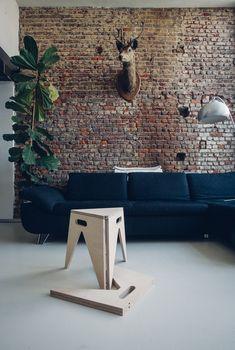 SLIM stool by Olivier Roels