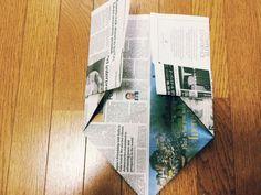 私のお気に入り。新聞紙で作るゴミ箱とマチありの袋 | かたづけとモノづきあい Envelopes, Diy And Crafts, Paper Crafts, Work From Home Opportunities, Origami Box, Reuse Recycle, Country Decor, Finding Yourself, Gifts