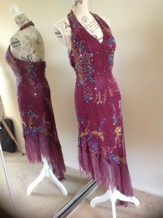 Ashleigh Morgan Australia Hand sewn bead dress dress