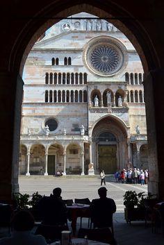 scorcio Duomo di Cremona, Italy