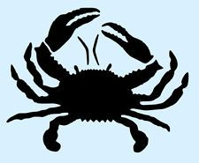 CRAB STENCIL STENCILS TEMPLATE TEMPLATES SEA CRAFT MOLLUSK MARINE NEW 6